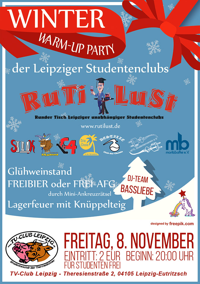 2019-11-08 RuTiLuSt: Winter-Warmup Party im TV-Club